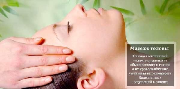 Массаж головы от боли после инсульта