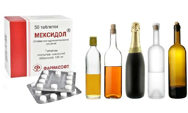 Мексидол и его совместимость с алкоголем