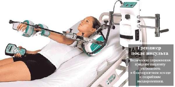 Тренажер для реабилитации после инсульта