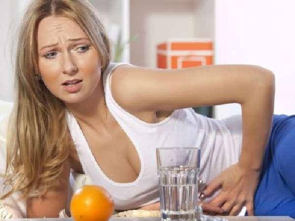 Боль в животе после еды