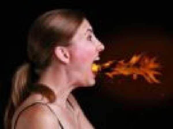 У женщины изжога