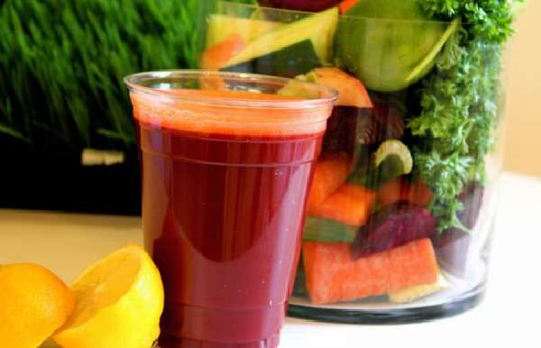 Овощной свежий сок