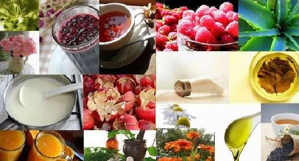 Полезные ягоды, мед, алоэ