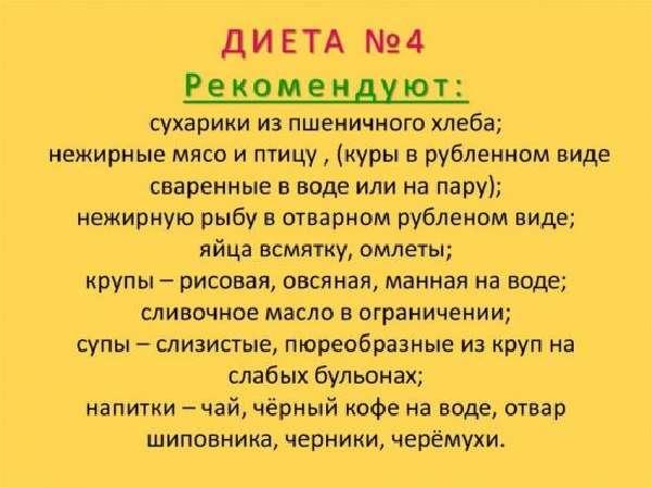 Диета 4