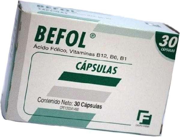 Таблетки Бефол