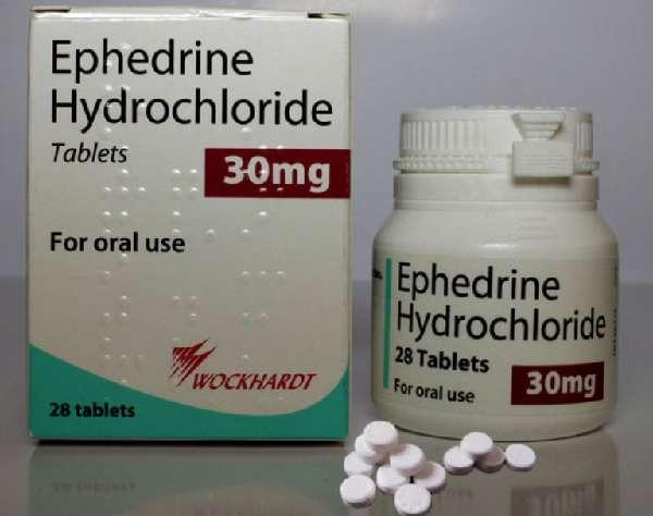 Таблетки Эфедрин