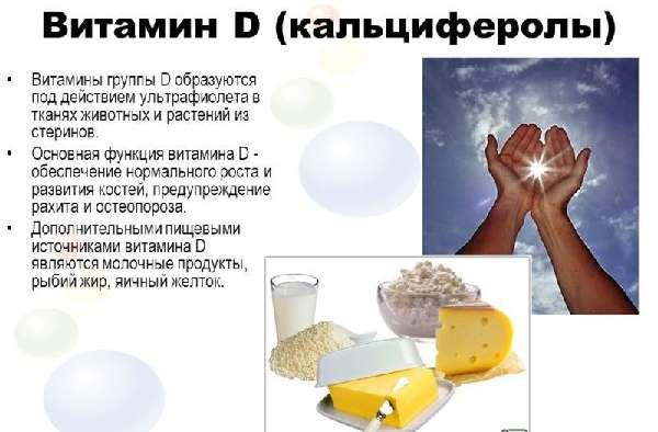 Функции витамина D