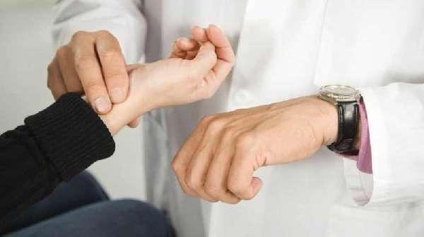 Измерение сердцебиения человека