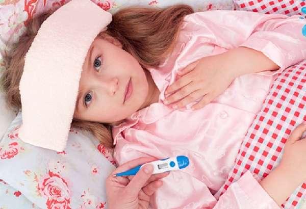 Компресс с уксусом для ребенка