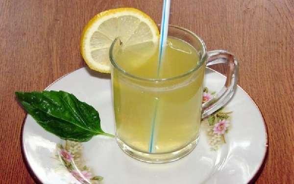 мятно-медовый напиток