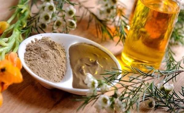 Маска из расторопши и масла для лица