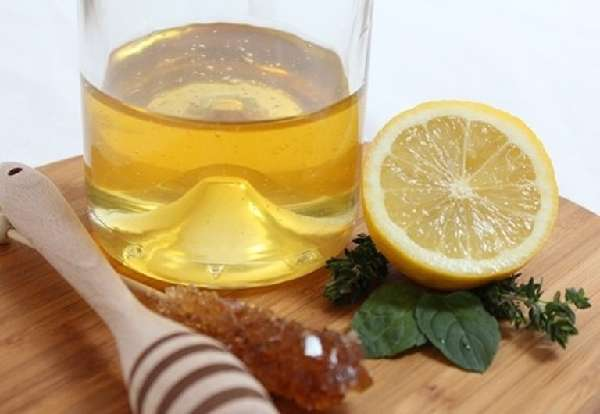Мед и сок лимона