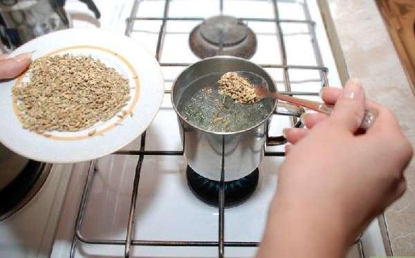 Приготовление отвара из аниса