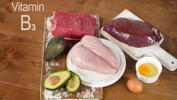 Продукты с содержанием витамина B3