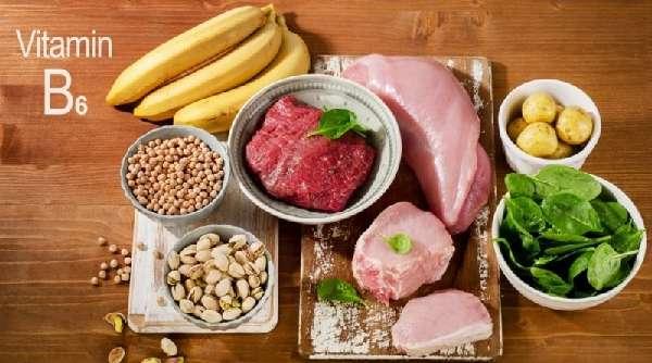 Продукты с содержанием витамина B6