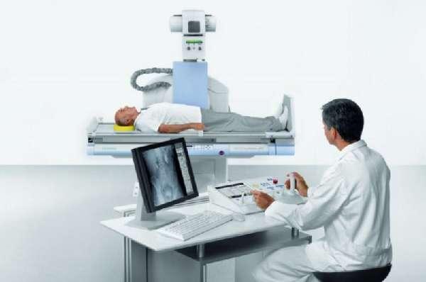 Рентгеноскопия желудка человека