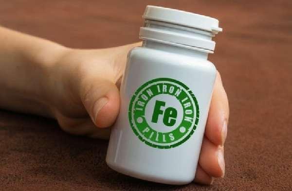Таблетки с железом