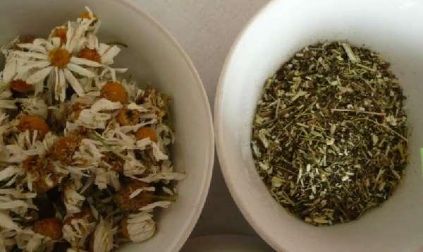 Сушеные травы для ванночки