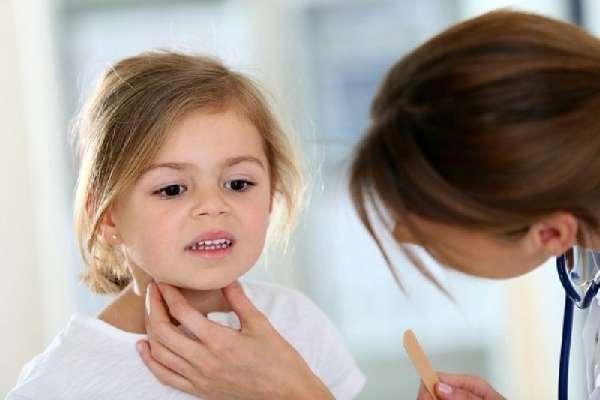 У ребёнка осип голос
