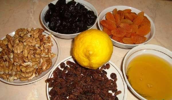 Витаминные смеси для сердца из сухофруктов — 3 лечебных рецепта