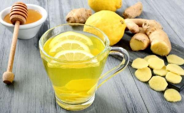 Настой имбиря с лимоном