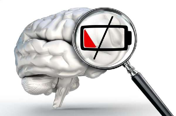 Мозг истощен