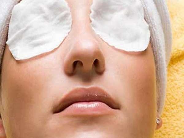 компресс на глаза
