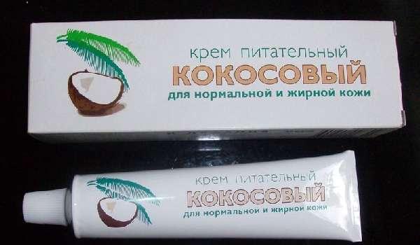 Кокосовый крем для лица