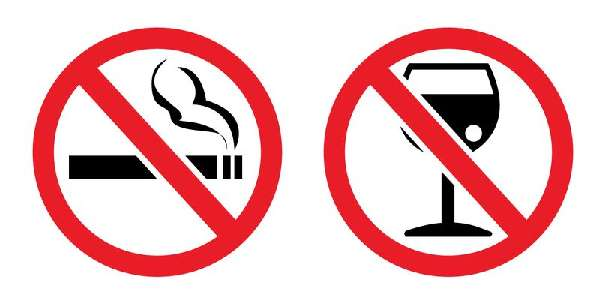 Запрещено курение
