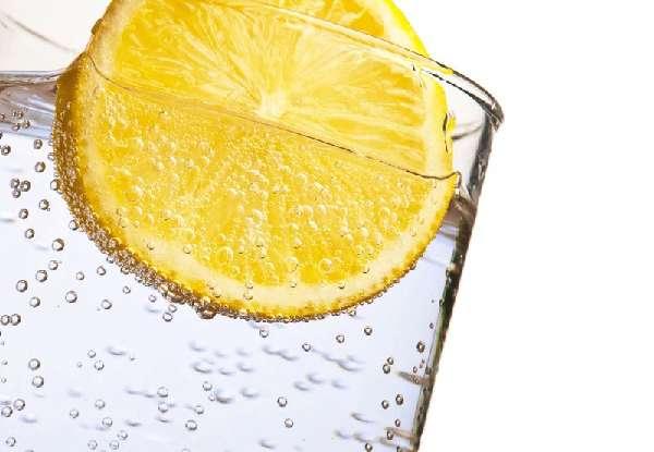 Вода с лимоном и содой