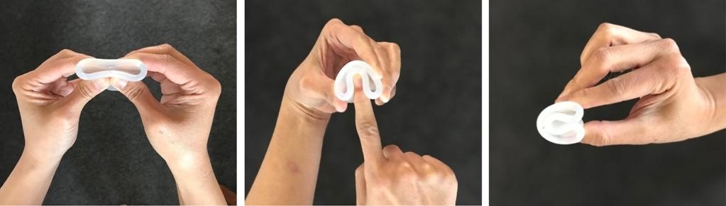 как сложить менструальную капу