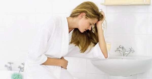 спазмы желудка и тошнота
