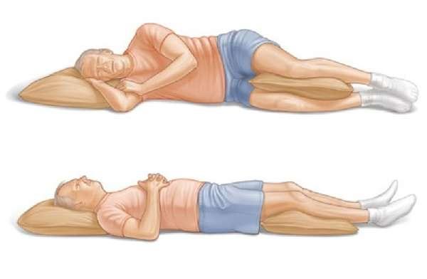 положение тела во время сна