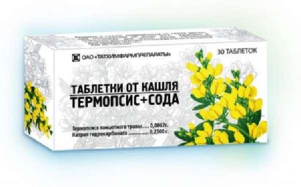 Лекарства от кашля с термопсисом
