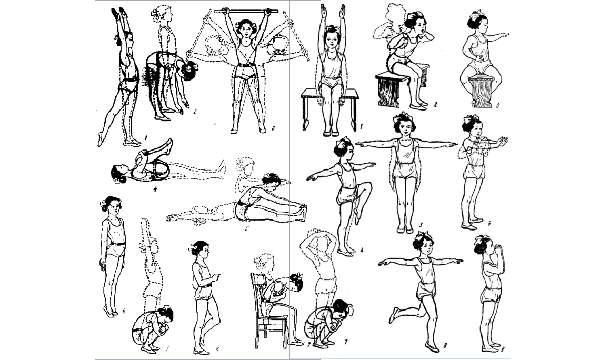 Положительный эффект от упражнений