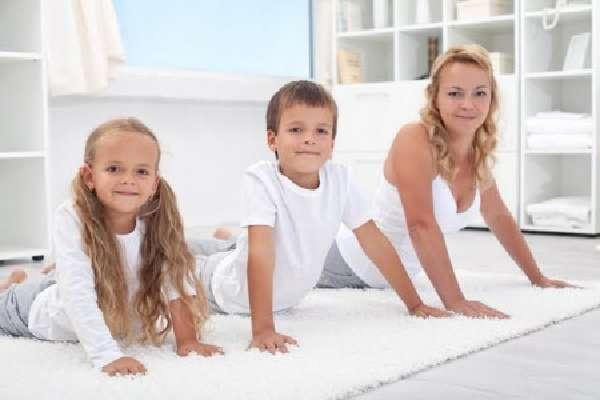 Комплекс ЛФК для детей и взрослых