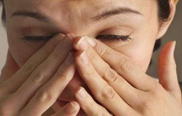 Проявленияпри отсутствии насморка