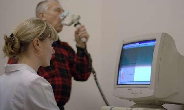 Проведение процедуры пробы с бронхолитиком