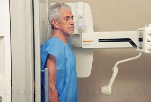 Диагностика гидроторакса