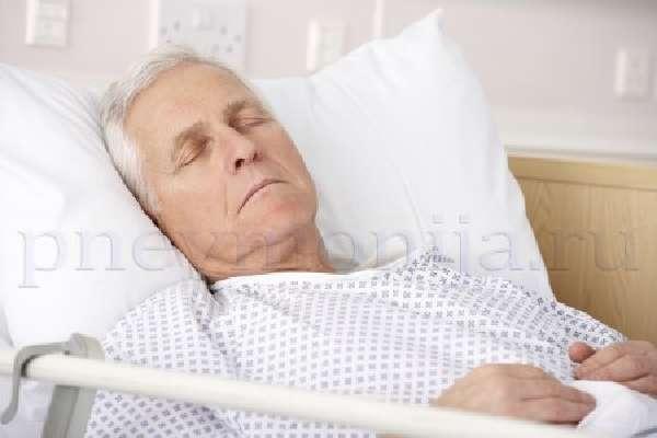 застойная пневмония у пожилого человека